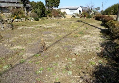 2014_02 22_南側(屋敷入口)の畑70坪位?(もっと大きいかも)