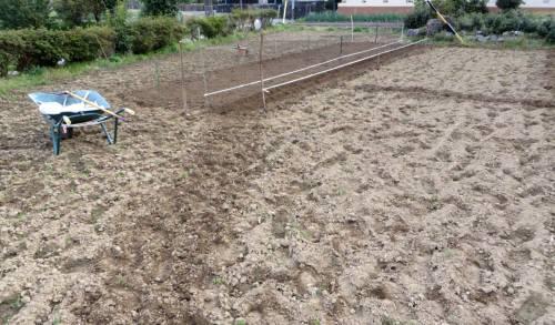 2014_04 08_ジャガイモ畑を作る