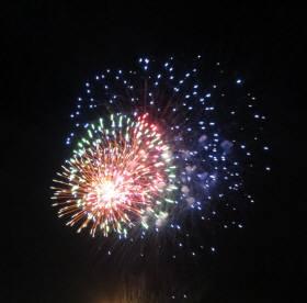 2014_07 12_上村(隣村)の花火・2