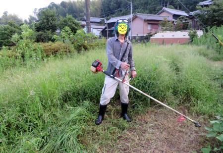 2014_07 23_草刈り機・発動