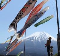 GWの富士山麓