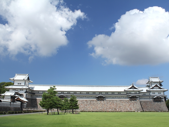 金沢城のシンボル 五十間長屋・菱櫓・橋爪門続櫓