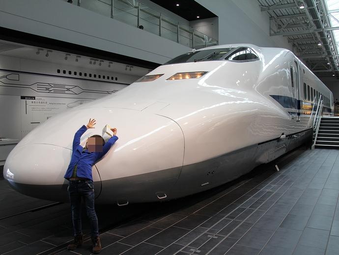 700系新幹線車両(リニア・鉄道館にて)