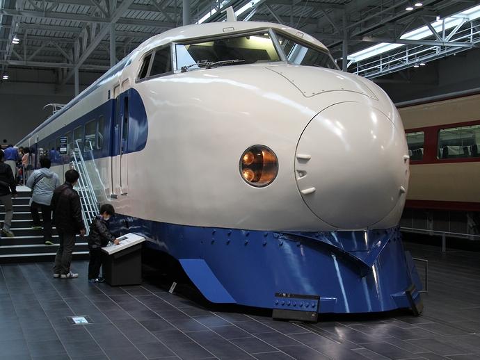 0系新幹線車両(リニア・鉄道館にて)