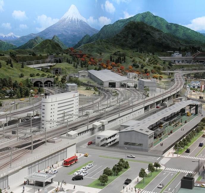リニア・鉄道館のジオラマ
