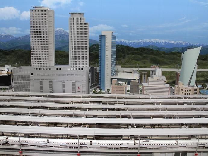 ジオラマで名古屋駅を再現 リニア・鉄道館