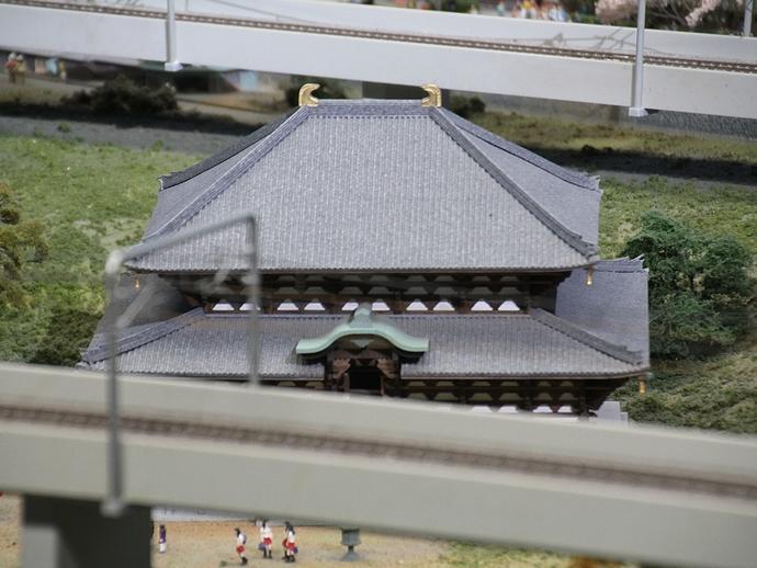 ジオラマの東大寺(リニア・鉄道館)