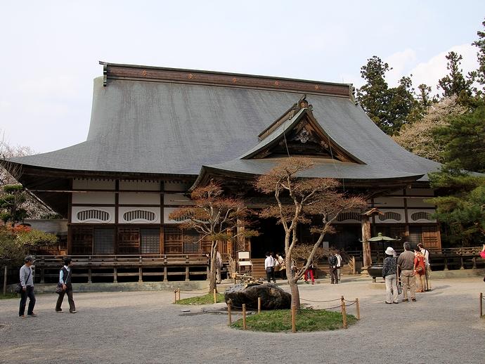 平泉・中尊寺のご本堂
