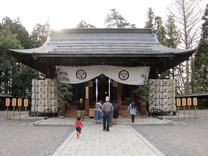 米沢の上杉神社 上杉謙信を祀る