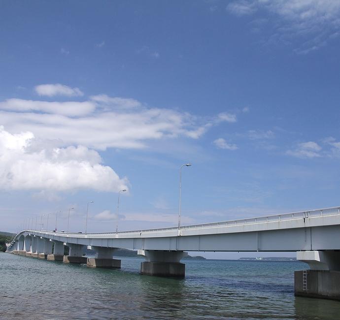 能登島大橋(能登島大橋ロードパークより)