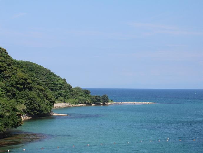 能登島の綺麗な海