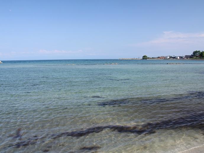 能登島の八ヶ崎海水浴場