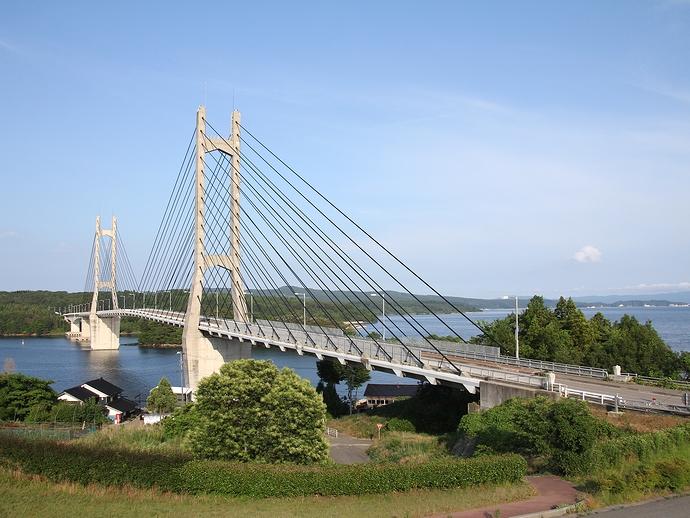 中能登農道橋(ツインブリッジのと)