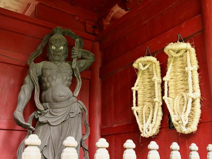 大乗寺の仁王像(阿形像)