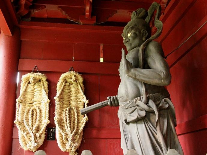 大乗寺の仁王像(吽形像)