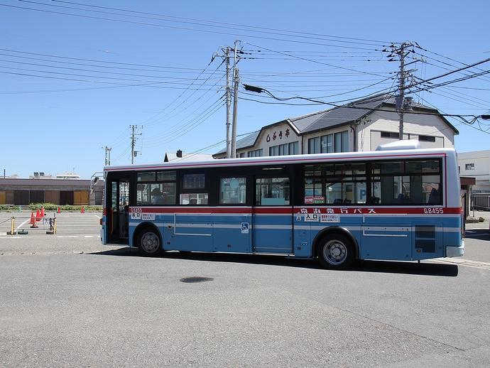 京急バスの終点「城ヶ島」バス停