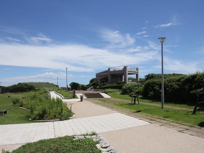 城ヶ島公園の第1展望台