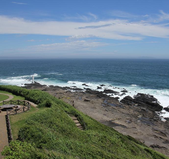 城ヶ島公園の展望台から見た絶景