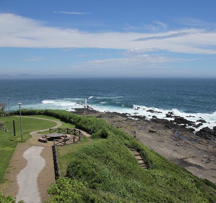 城ヶ島公園展望台からの眺め