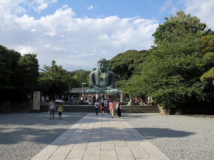 高徳院(鎌倉大仏)の境内の様子