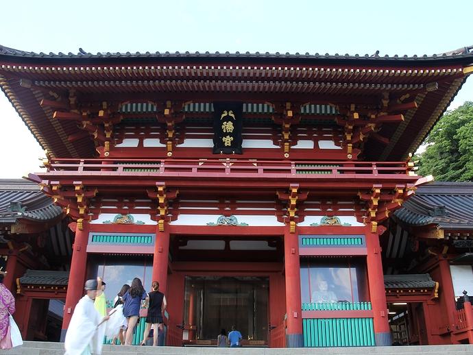 鎌倉の鶴岡八幡宮(本宮)