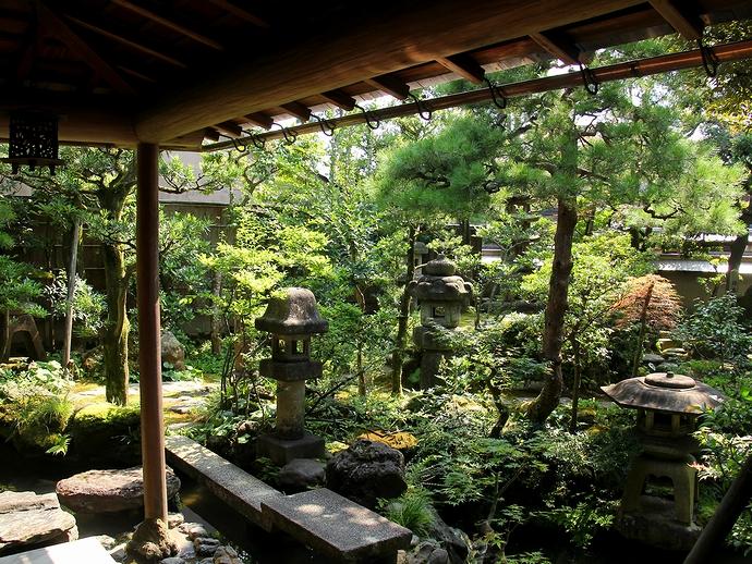 金沢市長町の野村家庭園