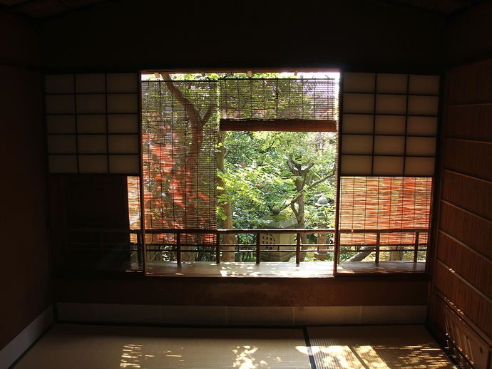 武家屋敷野村家2階の茶室