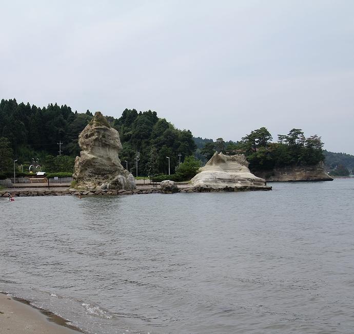 有名な伝説が残る能登内浦「恋路海岸」