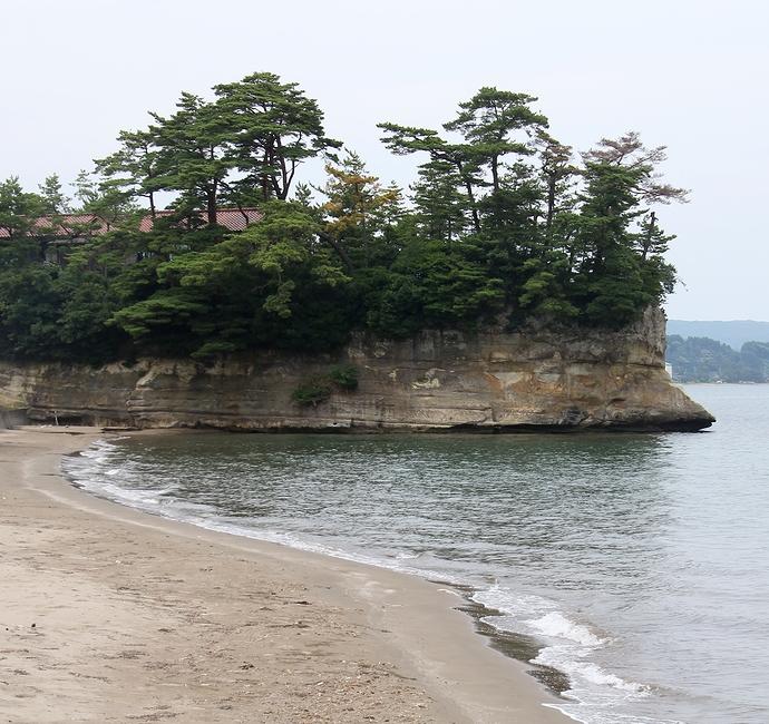 能登恋路海岸の海岸風景