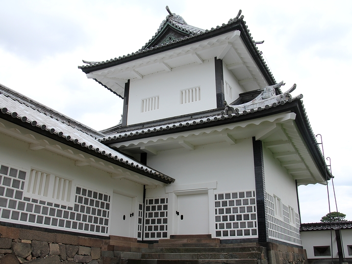 金沢城の文化財「石川門」