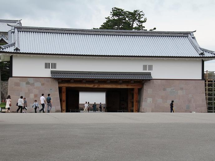 金沢城の実質的な表門「河北門」