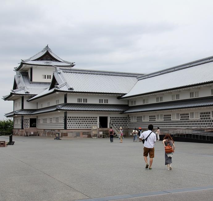 金沢城菱櫓と五十間長屋