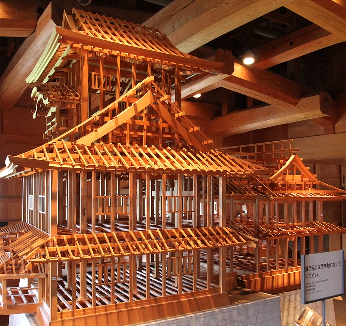 金沢城菱櫓の模型