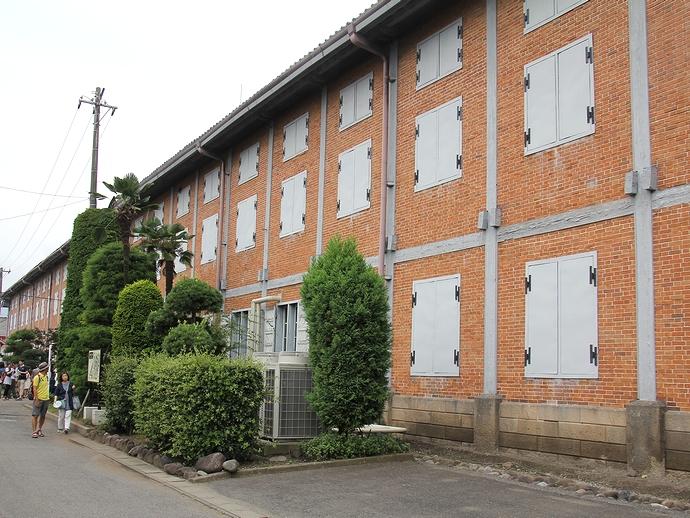 富岡製糸場の東繭倉庫