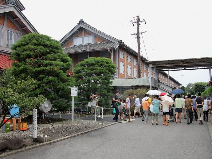 富岡製糸場 敷地内の様子