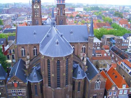 新教会の塔の上①