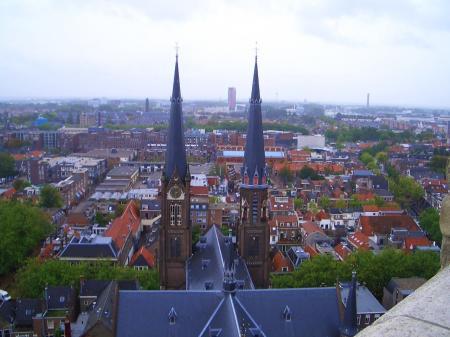 新教会の塔の上②