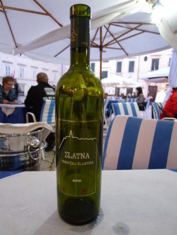 Zlahtina wine