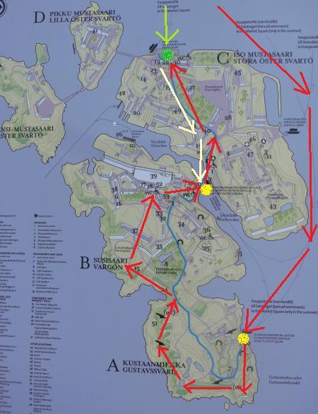 suomenlinna map2