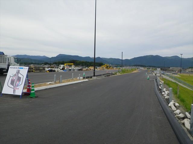 建設中の東九州自動車道