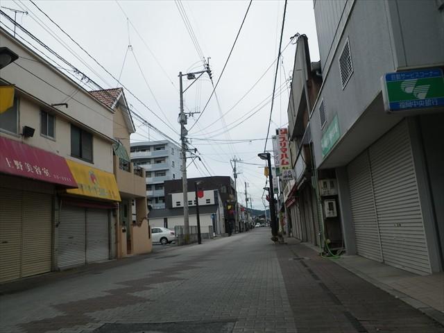 寂れた商店街