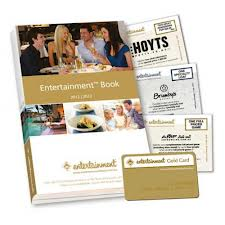 Entertaiment book