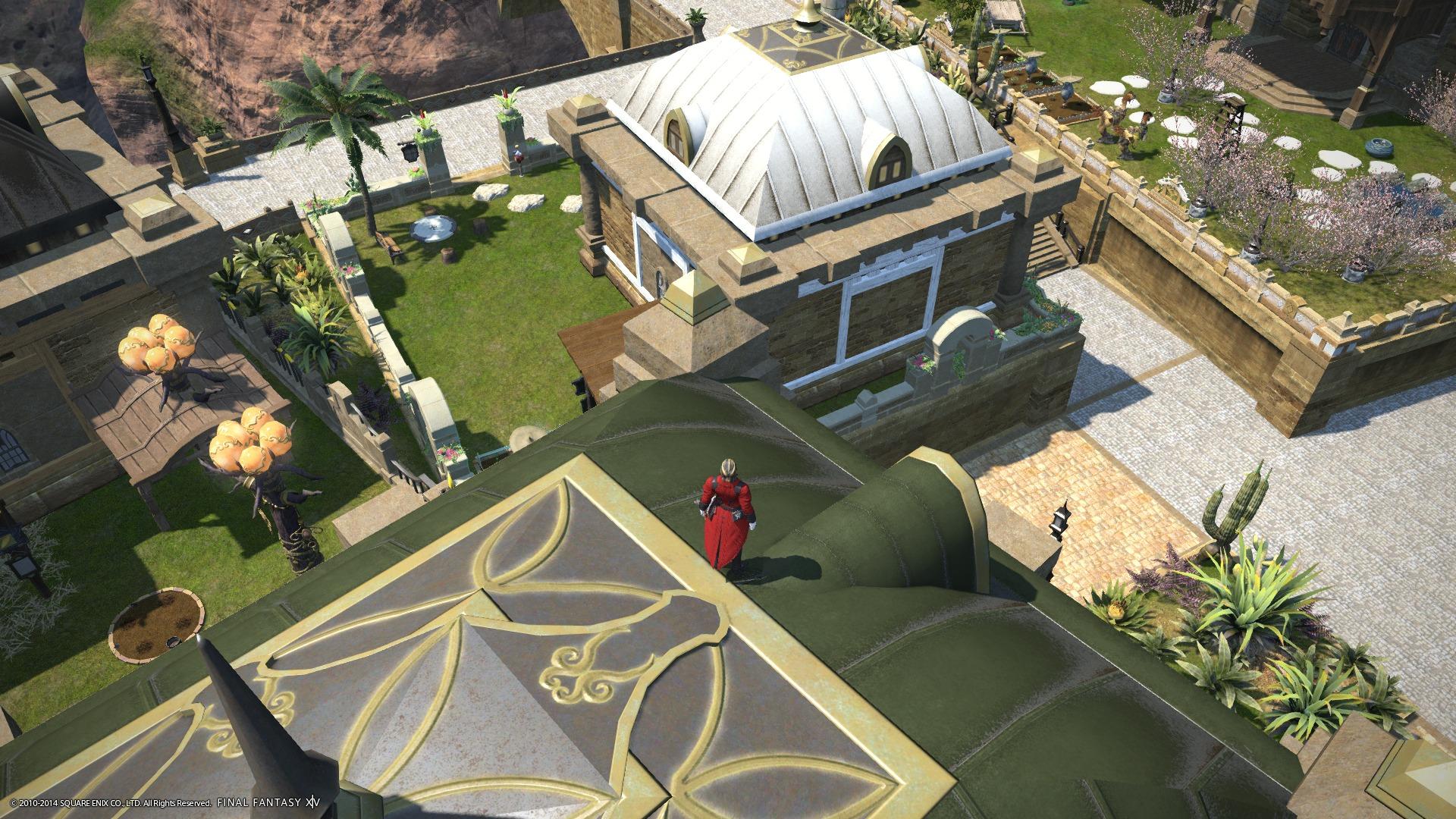 屋根のぼり4