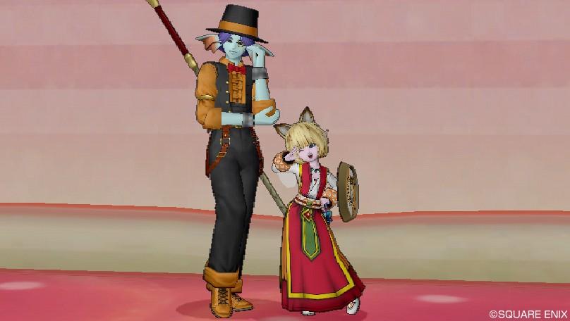 マスターと猫娘