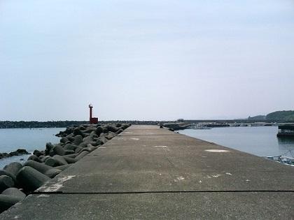 20140313和具漁港 (2)赤灯