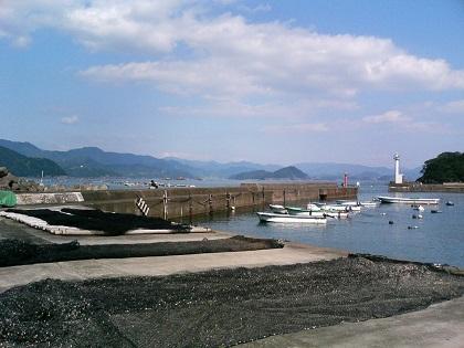 白浦漁港04赤灯