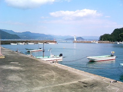 白浦漁港05港内