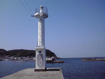 20140720阿尾漁港 (1)白灯