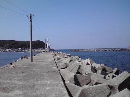 20140720阿尾漁港 (2)白灯