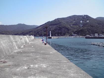 20140720阿尾漁港 (4)左波止